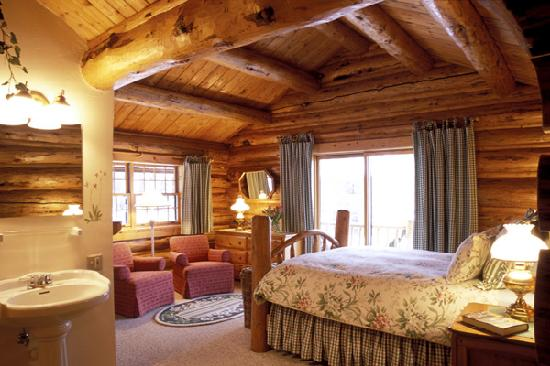Wildflower Lodge at Jackson Hole: Fantastic balconies complete with views of the nearby mountains, passing comets and shooting sta