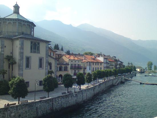 Antica Stallera Hotel: Cannobio from the lake #2