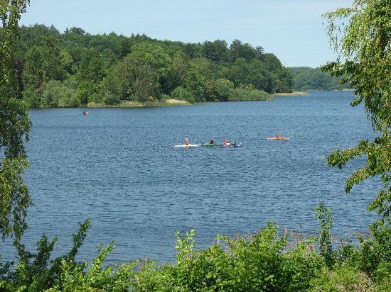Eutin, Germany: Kajaking auf dem Kellersee