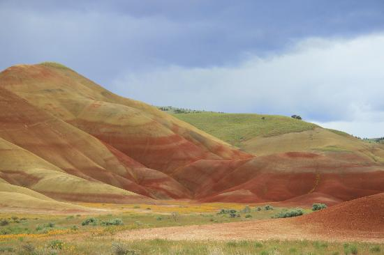John Day Fossil Beds National Monument: Painted Hills Unit, Fossil Beds NM - gorgeous colors!