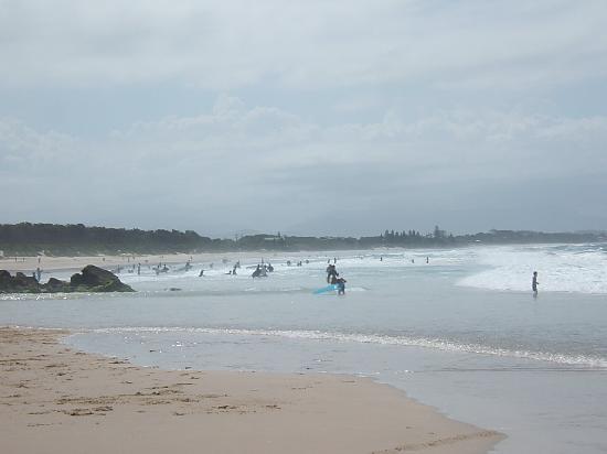 خليج بايرون, أستراليا: Noch einmal der Strand