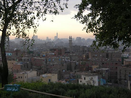 Al-Azhar Park: Sicht vom Al Azhar Park