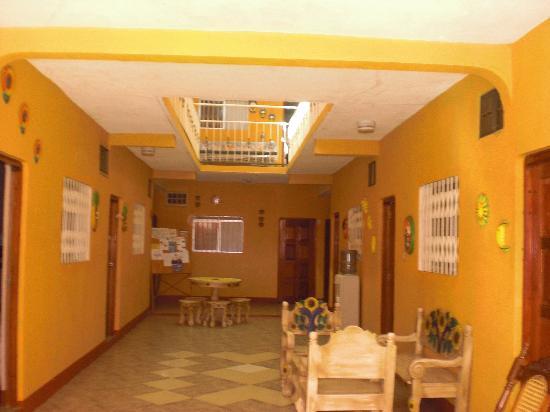 Hotel Encanto del Sur: parte  de la  recepcion