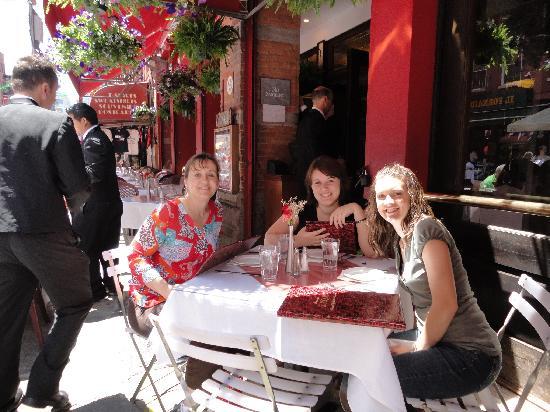 S.P.Q.R. Restaurant : Enjoying our lovely lunch
