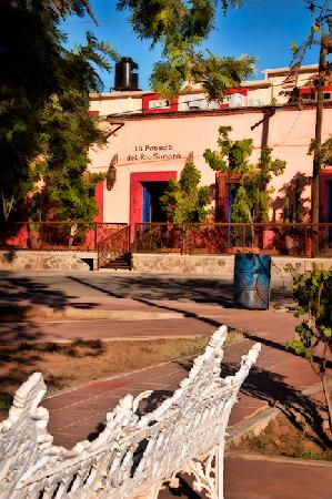 La Posada del Rio Sonora: The exterior portions of the building are at least 250-300 years old.