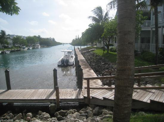 Hawks Cay Resort: the morning view