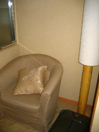 Hotel Color: My room (302) had a little reading nook.