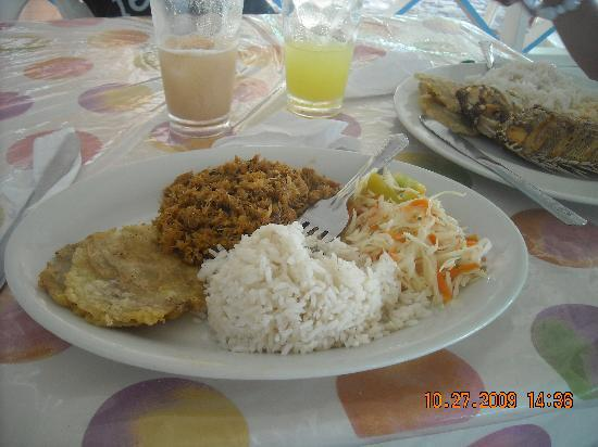 Providencia Island, Kolombiya: Excelente Comida