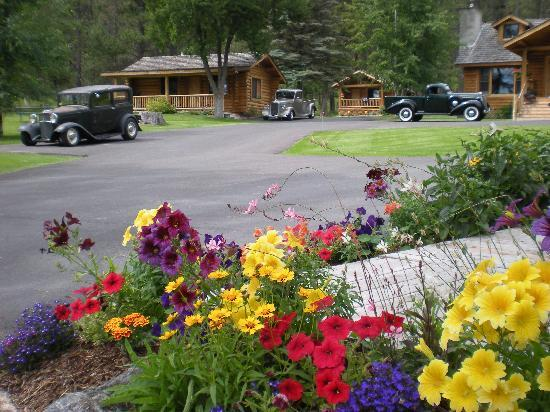 Somers Bay Log Cabin Lodging: Antique Car Club