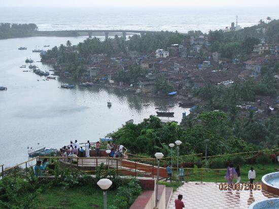 Hotel Landmark : Ratnagiri from Thibaw Point