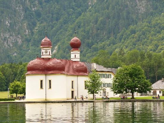 Pension Berganemone: St.Bartholomä, Königsee