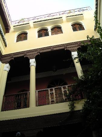 Dar Taliwint: El patio del Dar