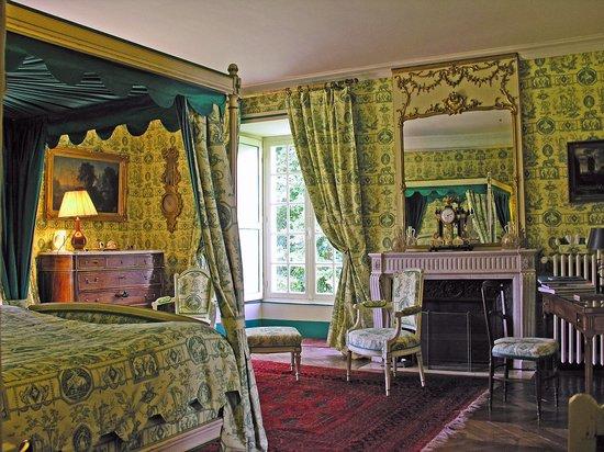 Chateau de la Barre: Chambre Esprit de Jouy Verte