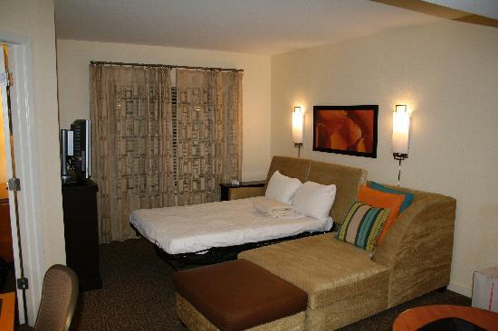 Pleasing Sofa Bed In The Large Room Picture Of Hyatt House Miami Short Links Chair Design For Home Short Linksinfo