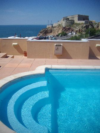 Solarium Au ème étage Picture Of Hotel Port Marine Sete - Hotel port marine sete