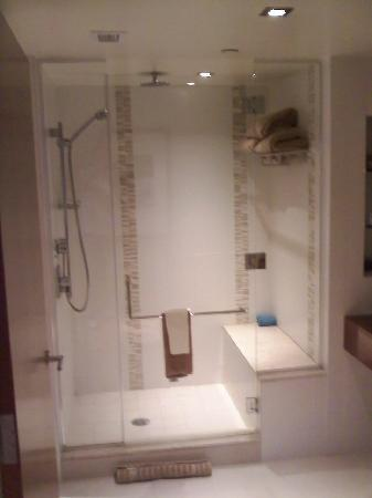The Water Club by Borgata: *Their beautiful shower*