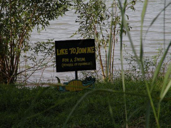Kabini River Lodge : Beware of Crocodile!!!