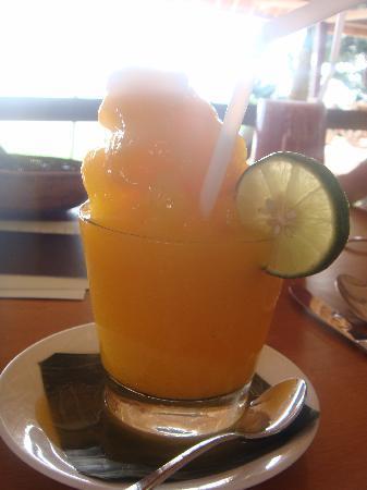 Mango & Tangerine Granita