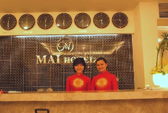 Mai Hotel : Reception