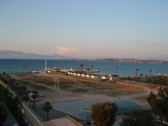 Radisson Blu Resort & Spa, Cesme: Sicht vom Balkon