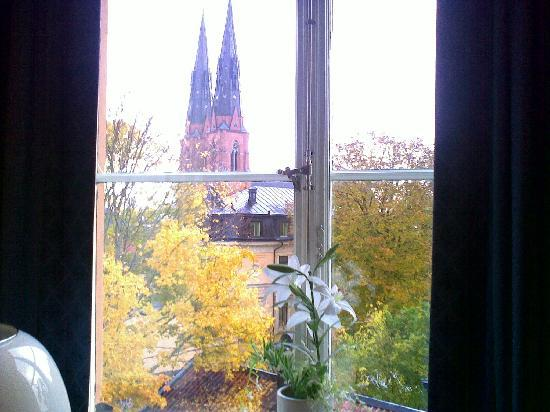 Akademihotellet: window view 1