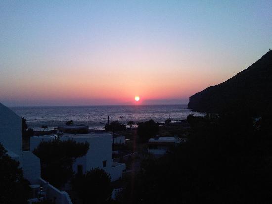 Romeos Hotel: vista da terrazza Romeos