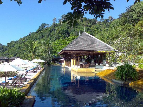 Pangkor Laut Resort: Pool im Spabereich