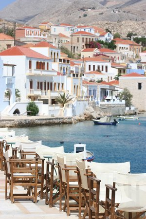 Halki, Greece: Hiona Art Terrace