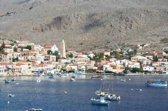 Halki, Grecja: View from Hiona Art Room