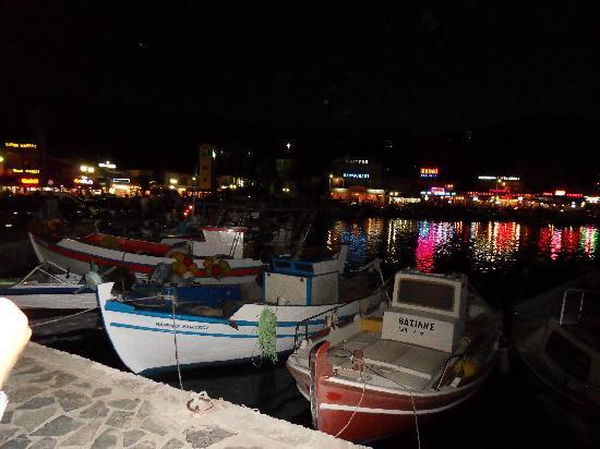 Maria Stella: Harbour at night