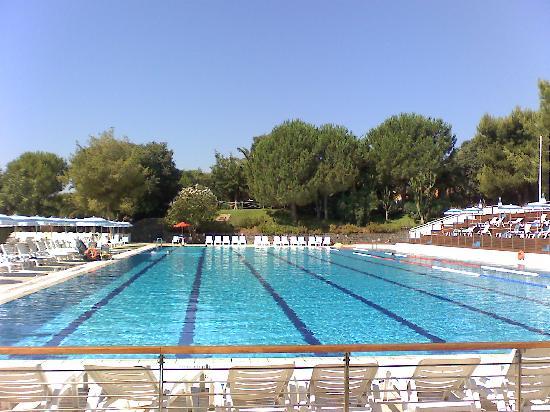 Piscina olimpica foto di atahotel naxos beach giardini for Piscina olimpica