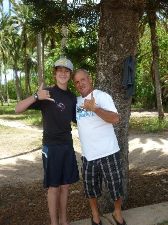 Tim And Uncle Bryan After Surfing Picture Of Uncle Bryan