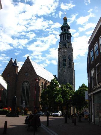 Abbey Tower of Long John (Abdijtoren de Lange Jan): The tower