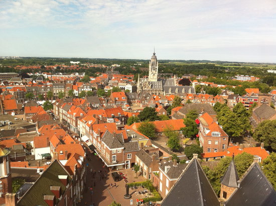 Middelburg, Nederländerna: view from top