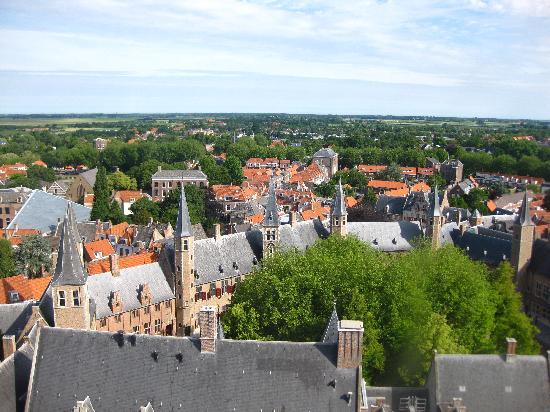 Abbey Tower of Long John (Abdijtoren de Lange Jan): another view from top