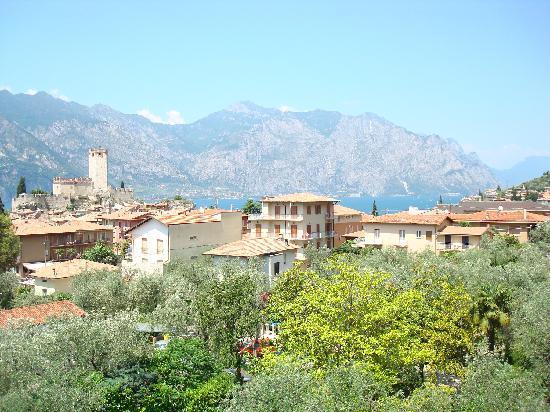 Hotel Alpi: der Blick aus dem Fenster
