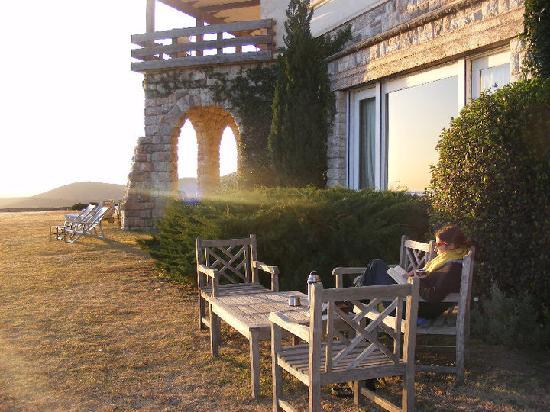 Castillo de Mandl: El mirador