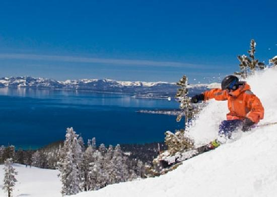 South Lake Tahoe, Kalifornien: Winter in Beautiful Lake Tahoe