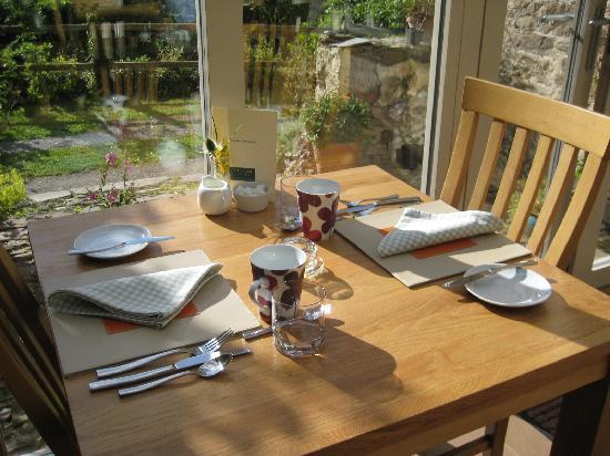 Streamcombe Farm: dinning area