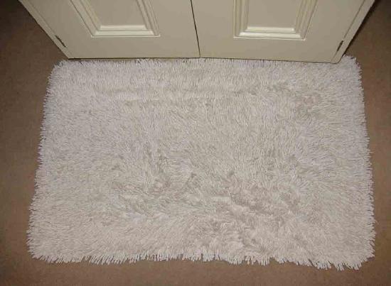 La Bonne Vie Guest House: grubby bath mat