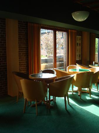 Munkebjerg Hotel: the café