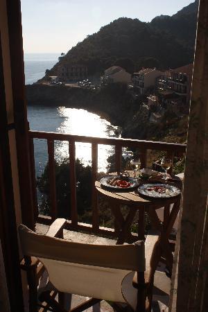 Cavos Inn: Room 7 Balcony