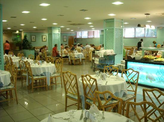 Hotel Caprici: the restaurant