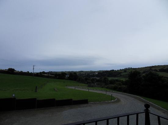 Rosscarbery, Ireland: View from our bedroom