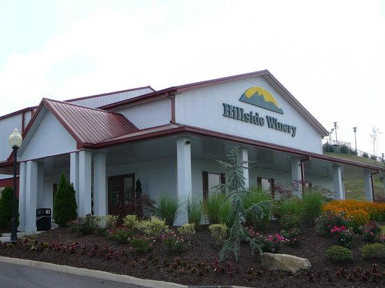 Exterior of Hillside Winery