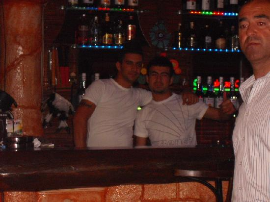 Istanbul Restaurant and Bar: happy bar men