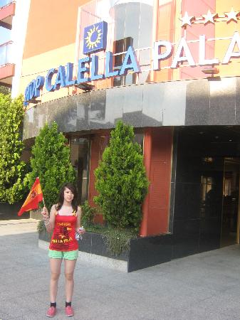 H·TOP Calella Palace & Spa : Front entrance