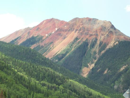 Silverton, CO: A much needed stop beyond Red Mountain Pass.