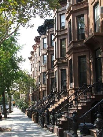 BEST WESTERN PLUS Arena Hotel: Brownstone side streets of Bedstuy