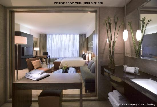 Hilton Bandung: Deluxe - King Room
